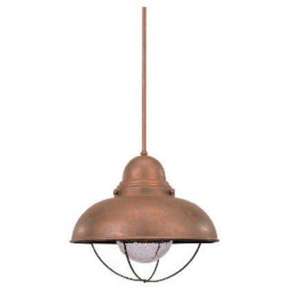 1l Pendant Weathered Copper