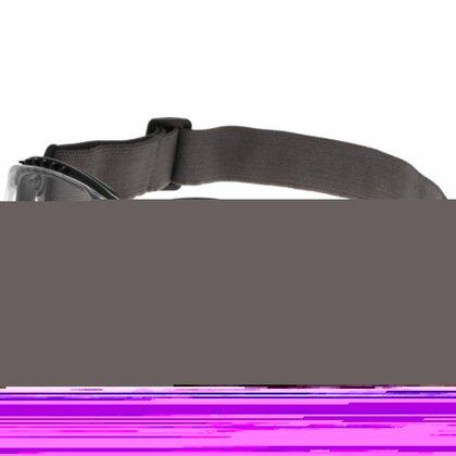 Black Protective Hybrid - Adjustable, Clear