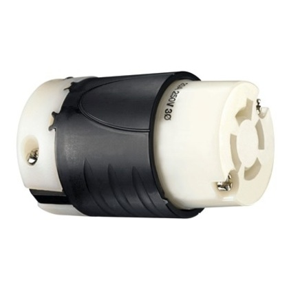 TURNLOK CONNECTOR 4W 20A 3P 250V