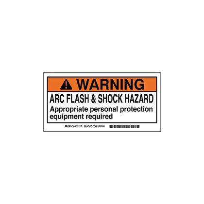 B302 2x4 Blk,org/wht 100/rl Flash&shock
