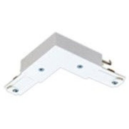"""Basic """"L"""" Connector, White"""