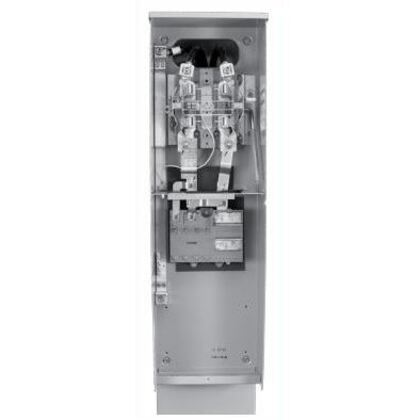 Meter Main Pedestal, Cold Sequence, 200A, 240VAC, 4 Jaw, Ringless