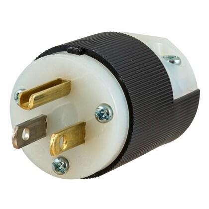 Straight Blade Plug, 15A, 125V, 5-15P, 2P3W