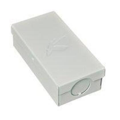 Linear Enclosed Splicing Box, White *** Discontinued ***