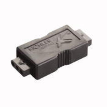 Male Connector, Black *** Discontinued ***