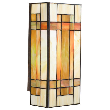 Wall Sconce, Art Glass, 2-Light *** Discontinued ***