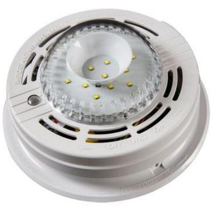 Dual Mode LED Strobe Light for Hearing Impaired, 120VAC
