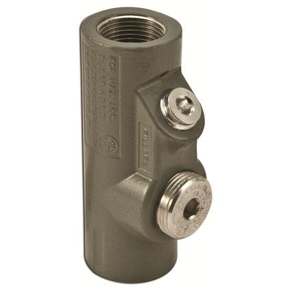 "Sealing Fitting, Vertical/Horizontal, 3/4"", Explosionproof, Aluminum"