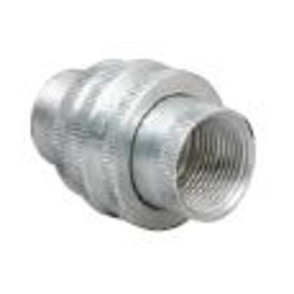 "Union, Male/Female, 1/2"", Explosionproof, Aluminum"