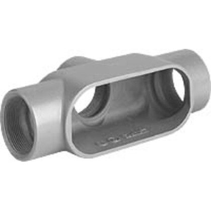 "Conduit Body, Type: TB, Size: 3/4"", Series 7, Malleable Iron"