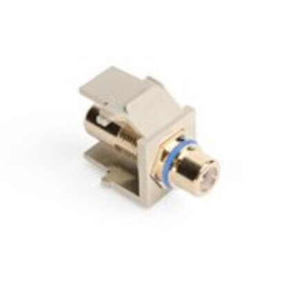 RCA QuickPort Snap-In Connector, Blue Stripe
