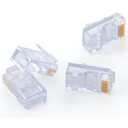 Modular Plug, EZ-RJ45 Cat 5e, 24AWG