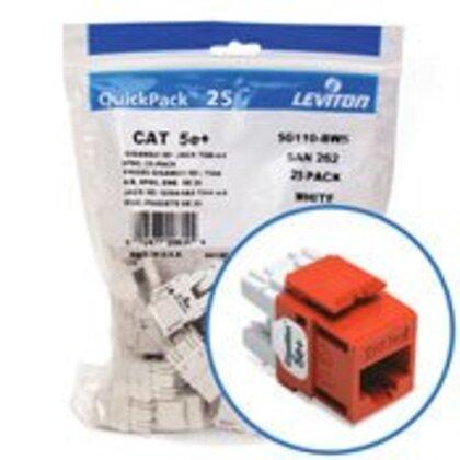 Jack Cat 5e+ Or Bulk25