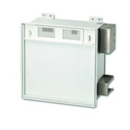 Active Ceiling Enclosure with junction box for duplex power outlet, with Fan, 2' X 2'