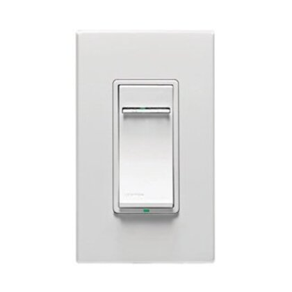 Slide Dimmer, 600W, Scene Capable, Vizia+, White *** Discontinued ***