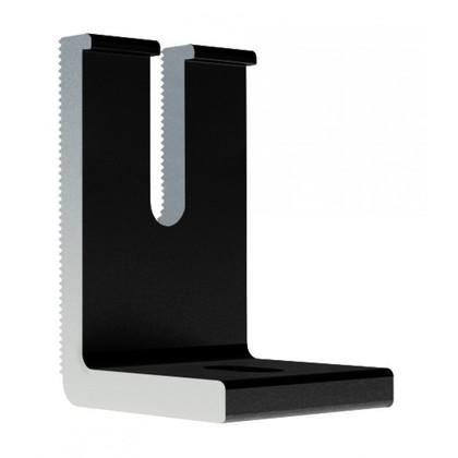 Slotted Adjustable L-Feet, Black Finish