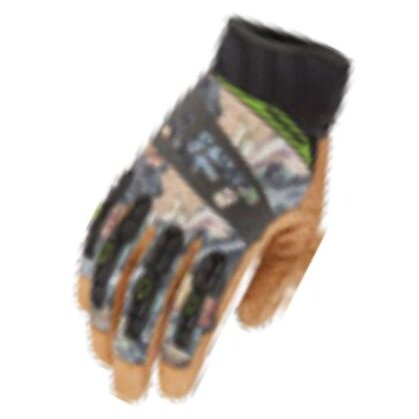 Tacker Work Gloves - Size: Large, Camouflage