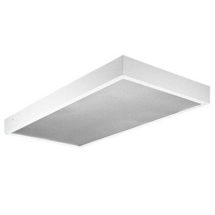 Surface Modular Fixture, 4', 4-Lamp, T8, 32W, 120-277V