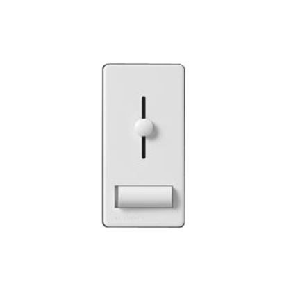 Slide Dimmer, Preset, 600W, Lyneo Lx, White *** Discontinued ***