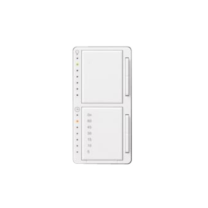 Dual Dimmer/Timer Switch, Maestro, White