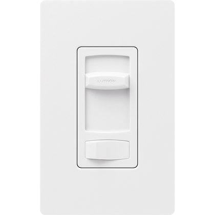 Fan Control Slide, White
