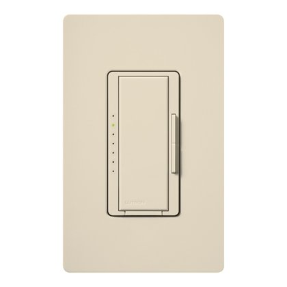 Maestro Fluorescent Dimmer, 6A, 277V, Light Almond *** Discontinued ***