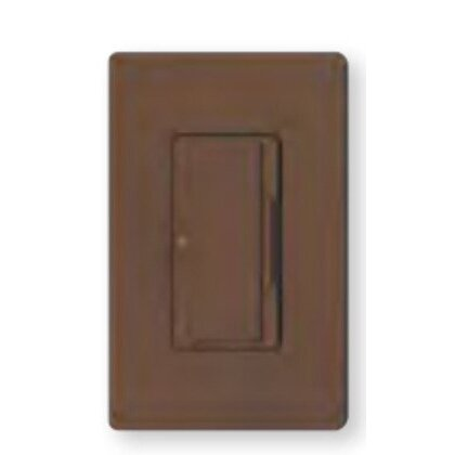 Dual Dimmer, Incandescent, Meastro, Brown