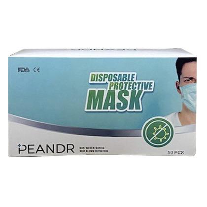 Disposable Face Make, European Std EN149-2001, 50/Pack