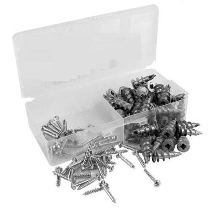 """Zip-It Anchor Kit, Metal,  # 8 x 1"""""""
