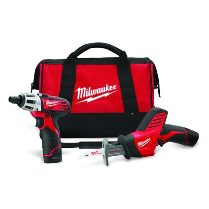 M12 Cordless Tool Kit
