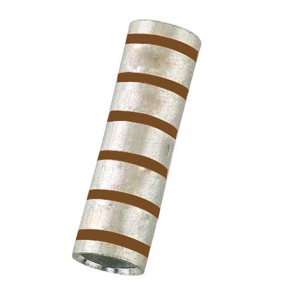 Compression Sleeve, Copper, Short Barrel, 2 AWG