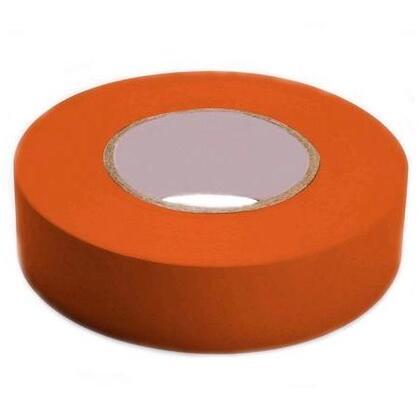 "Color Coding Electrical Tape, Vinyl, Orange, 3/4"" x 66'"