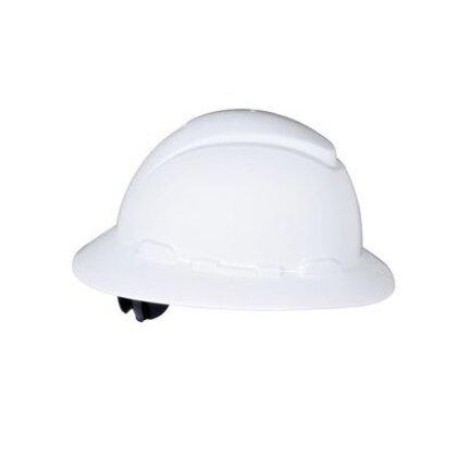 H-800 Series Hard Hat, Full Brim, White