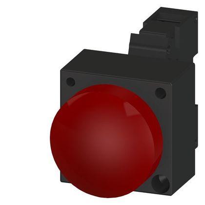 PILOT LIGHT RED FV LED 24V SMOOTH CMPLT