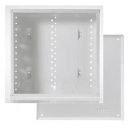"""14"""" Enclosure with Screw-On Door, 14.1"""" H x 14.3"""" W x 3.7"""" D, White"""