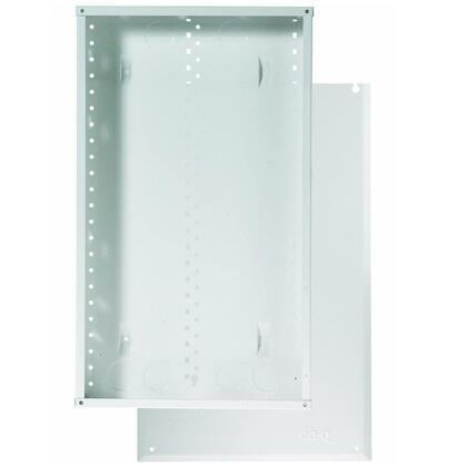 """20"""" Enclosure with Screw-On Door, 20.1"""" H x 14.3"""" W x 3.7"""" D, White"""