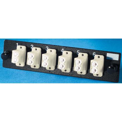 LC Adapter Plate, 12 Fibers, Beige