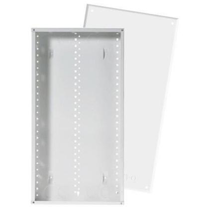 """28"""" Enclosure with Screw-On Door, 28.1"""" H x 14.3"""" W x 3.7"""" D, White"""