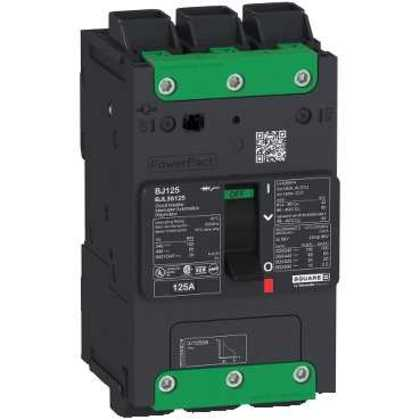 Breaker, Molded Case, 80A, 600Y/347VAC, 3P, 14kAIC, PowerPact