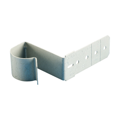 """Screw-On Conduit Support, Attaches 1"""" EMT/MC/AC to Stud, Steel"""