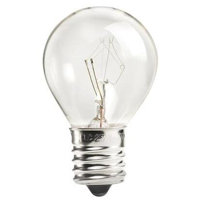 Miniature Incandescent Bulb, S11, 40W, 120V, Clear