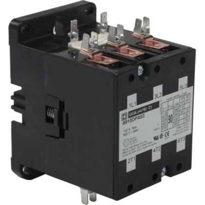 CONTACTOR 600VAC 90AMP DPA +OPTIONS *** Discontinued ***