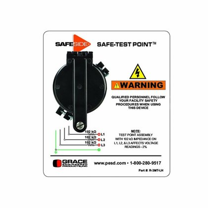 Safe Test Point Permanent Electrical Safety Device (PESD)