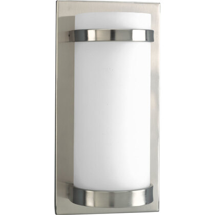 1-Light ADA Wall Sconce, Brushed Nickel *** Discontinued ***