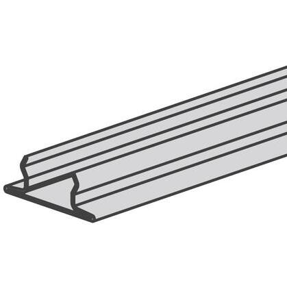 """Snap Closure Strip for 1-5/8"""" Wide Channels, Steel, 10'"""