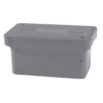 """Cover For Stackable Box, Standard Duty, 17"""" x 30"""", Polymer Concrete"""