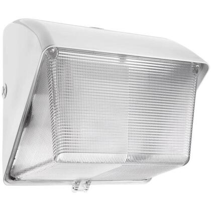 42 W Wallpack, CFL with Photocell, White