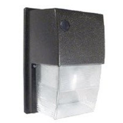 Wallpack, Compact Fluorescent, 1 Light, 26W, 120-277V, Bronze *** Discontinued ***