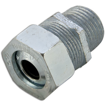 "Cord/Cable Connector, Strain Relief, 1/2"", Steel"