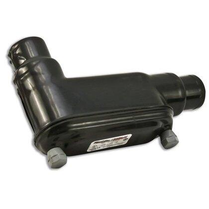 "Conduit Body, Type: LB, FM8, Size: 3/4"", PVC Coated Iron"